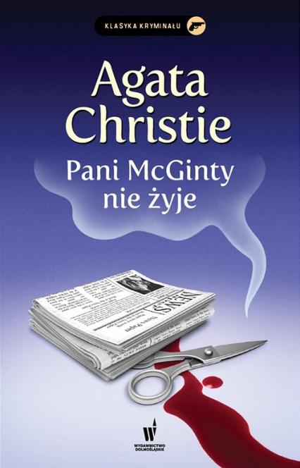 Pani McGinty nie żyje - Agata Christie | okładka
