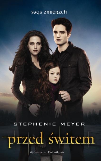 Przed świtem okładka filmowa 2 - Stephenie Meyer | okładka