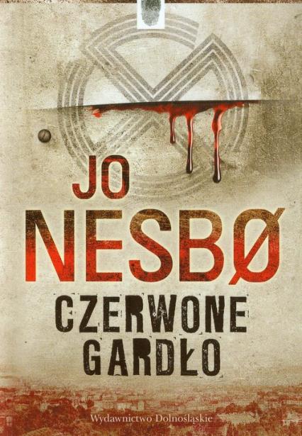 Czerwone gardło - Jo Nesbo   okładka
