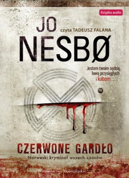 Czerwone gardło - Jo Nesbo | okładka
