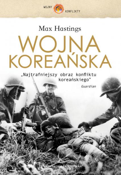 Wojna koreańska - Max Hastings | okładka