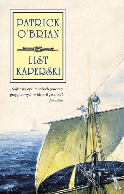 List kaperski - Patrick OBrian   okładka