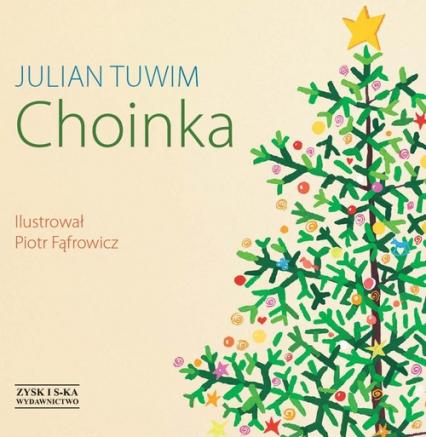 Choinka - Julian Tuwim   okładka