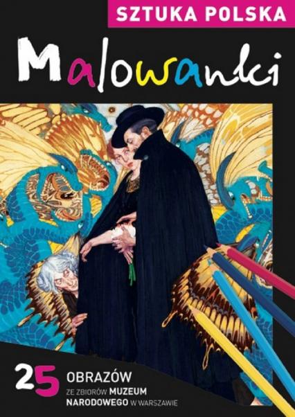 Sztuka polska. Malowanki - Katarzyna Rzontkowska | okładka