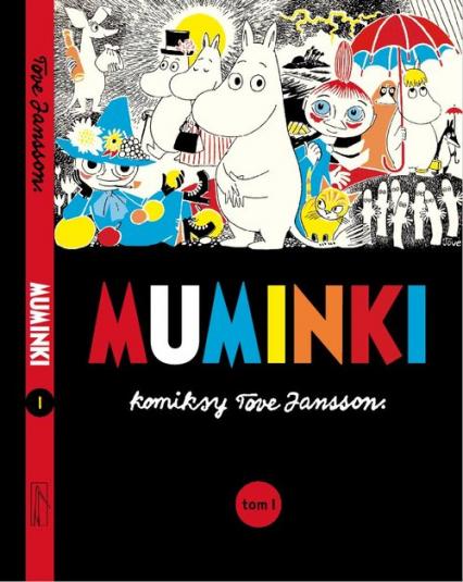Muminki komiks. Tom 1 - Tove Jansson   okładka