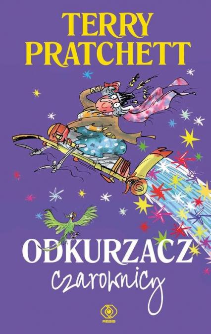 Odkurzacz czarownicy - Terry Pratchett | okładka