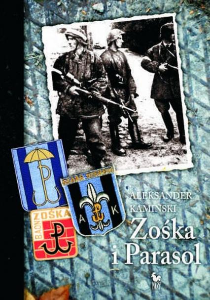 Zośka i Parasol - Aleksander Kamiński   okładka