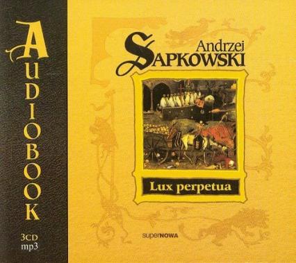 Lux perpetua - Andrzej Sapkowski | okładka