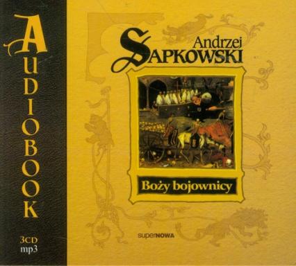 Boży bojownicy t.2 - Andrzej Sapkowski | okładka