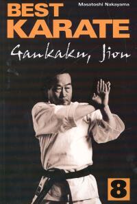 Best Karate 8 Gankaku Jion - Masatoshi Nakayama   okładka