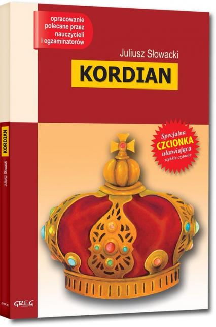 Kordian Wydanie z opracowaniem - Juliusz Słowacki | okładka