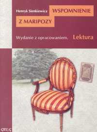 Wspomnienie z Maripozy Wydanie z opracowaniem - Henryk Sienkiewicz | okładka