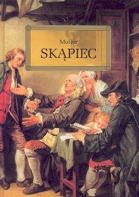 Skąpiec - Molier | okładka