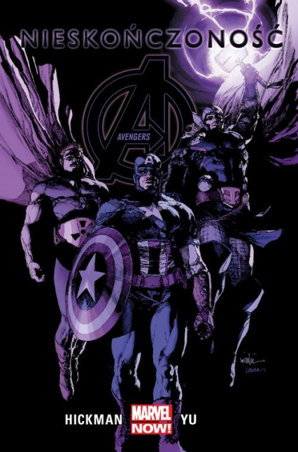 Avengers Nieskończoność Tom 4 - Jonathan Hickman | okładka