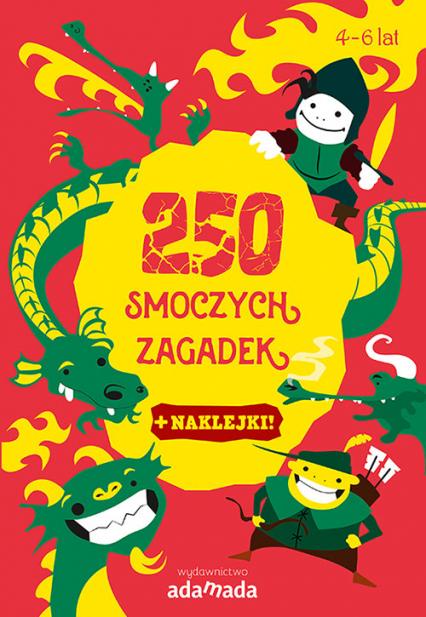 250 smoczych zagadek - Aleksandra Golecka-Mazur | okładka