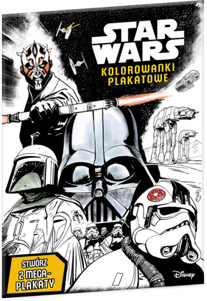 Star Wars Kolorowanki plakatowe KPO-2 -  | okładka