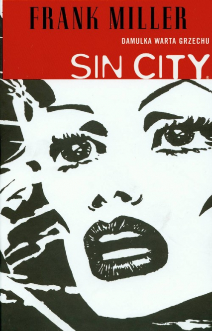 Sin City Damulka warta grzechu Tom 2 - Frank Miller | okładka