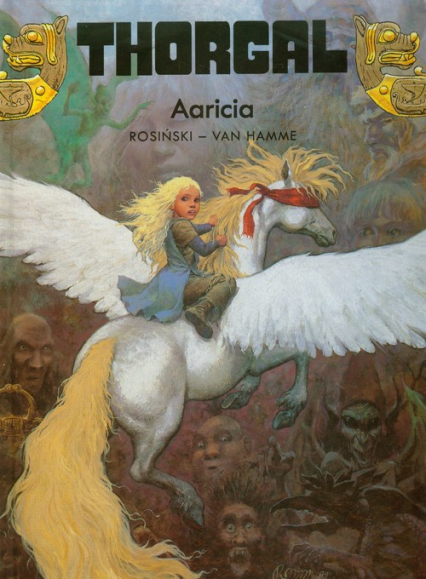 Thorgal Aaricia Tom 14 - Rosiński Grzegorz, Hamme Jean | okładka