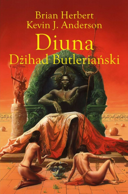 Diuna Dżihad Butleriański - Herbert Brian, Anderson Kevin J. | okładka