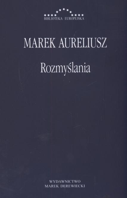 Rozmyślania - Marek Aureliusz | okładka