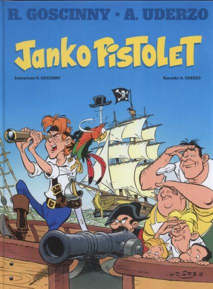 Janko Pistolet - Goscinny Rene, Uderzo Albert | okładka