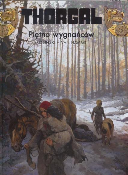 Thorgal Piętno wygnańców Tom 20 - Rosiński Grzegorz, Hamme Jean   okładka