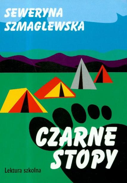 Czarne stopy - Seweryna Szmaglewska | okładka