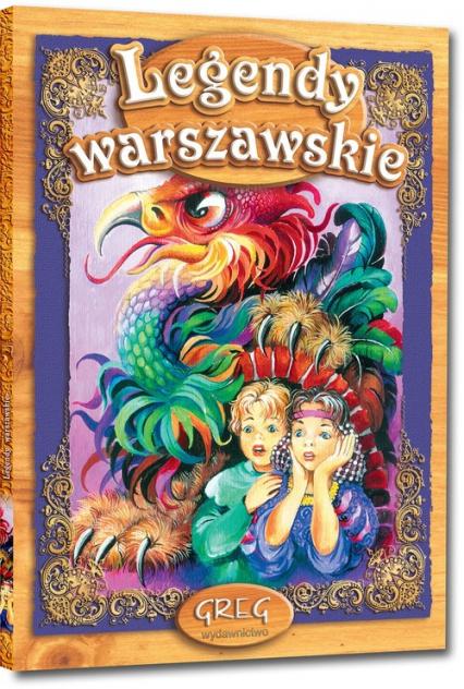 Legendy warszawskie - Artur Oppman   okładka