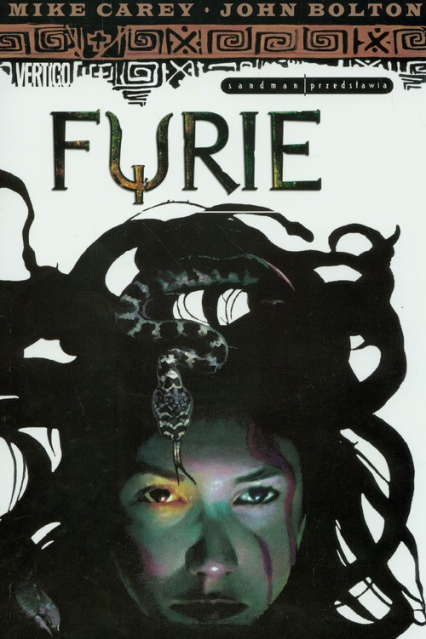 Sandman Furie - Carey Mike, Bolton John   okładka