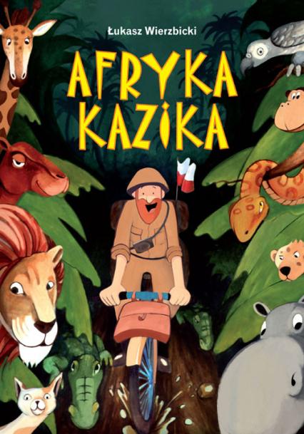 Afryka Kazika - Łukasz Wierzbicki   okładka
