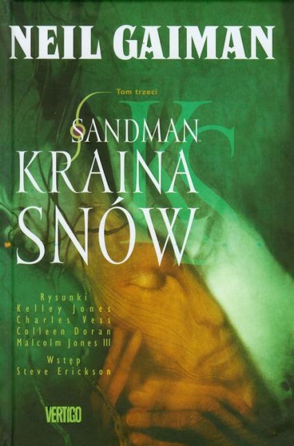 Sandman Kraina snów t.3 - Neil Gaiman | okładka