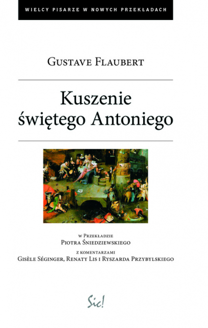 Kuszenie świętego Antoniego - Gustave Flaubert | okładka