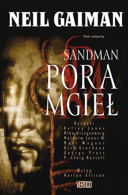 Sandman Pora mgieł Tom 4 Komiks - Neil Gaiman | okładka