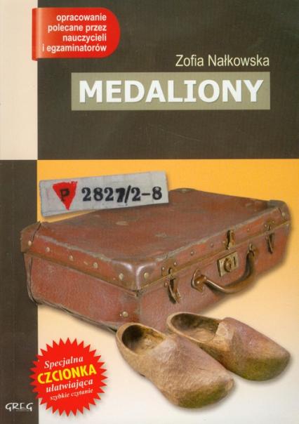 Medaliony z opracowaniem - Zofia Nałkowska | okładka