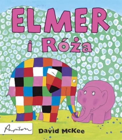 Elmer i Róża - David McKee | okładka