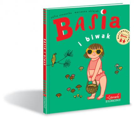 Basia i biwak - Stanecka Zofia, Oklejak Marianna | okładka