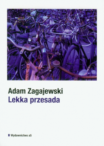 Lekka przesada - Adam Zagajewski | okładka