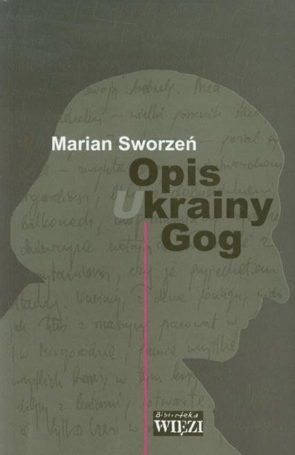 Opis krainy Gog - Marian Sworzeń   okładka