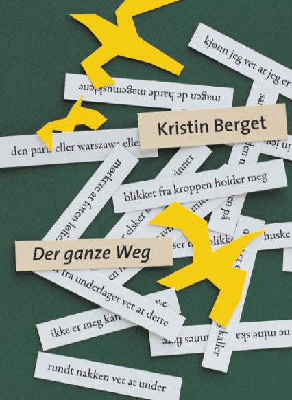 Der ganze weg - Kristin Berget | okładka