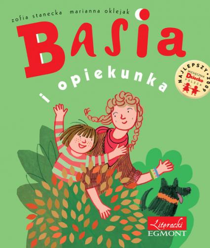 Basia i opiekunka - Zofia Stanecka | okładka