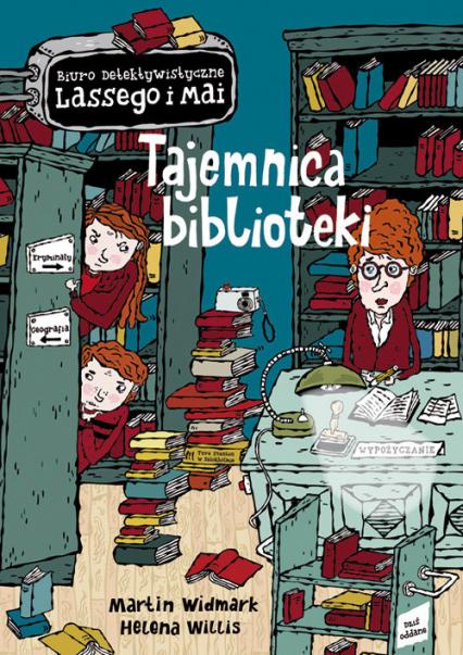 Tajemnica biblioteki - Martin Widmark | okładka