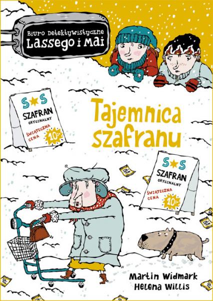 Tajemnica szafranu - Martin Widmark | okładka