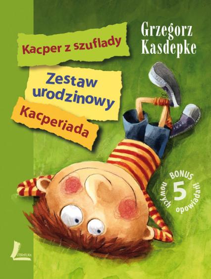 Zestaw urodzinowy Kacper z szuflady Kacperiada - Grzegorz Kasdepke | okładka