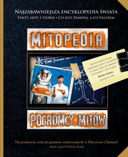 Pogromcy mitów - Mitopedia - Nicholas Searle | okładka