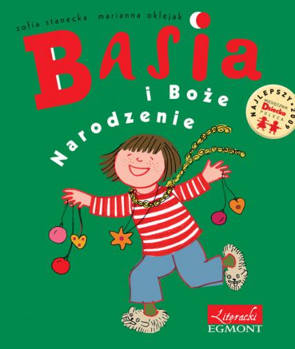 Basia i Boże Narodzenie - Zofia Stanecka | okładka