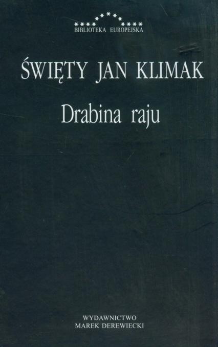 Drabina raju - Jan Klimak   okładka