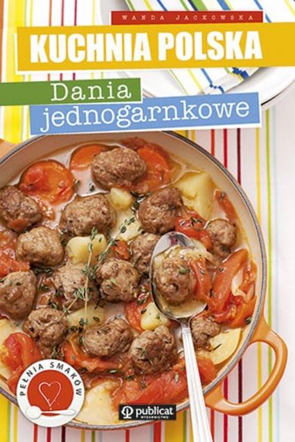 Dania jednogarnkowe - Wanda Jackowska | okładka