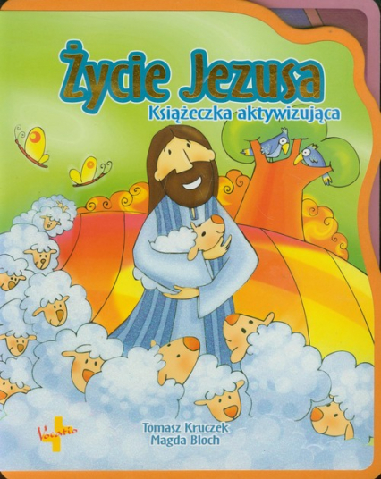Życie Jezusa Książeczka aktywizująca - Tomasz Kruczek   okładka