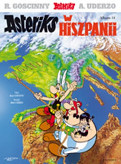 Asteriks w Hiszpanii album 14 - Rene Goscinny | okładka
