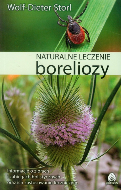 Naturalne leczenie boreliozy - Wolf-Dieter Storl | okładka